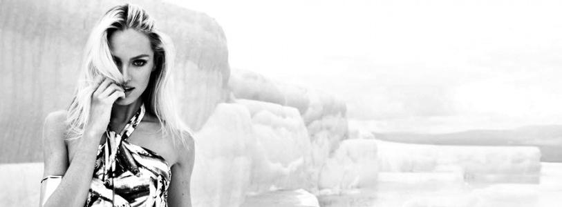 Candice Swanepoel for Agua De Coco Summer 2013 Ad Campaign