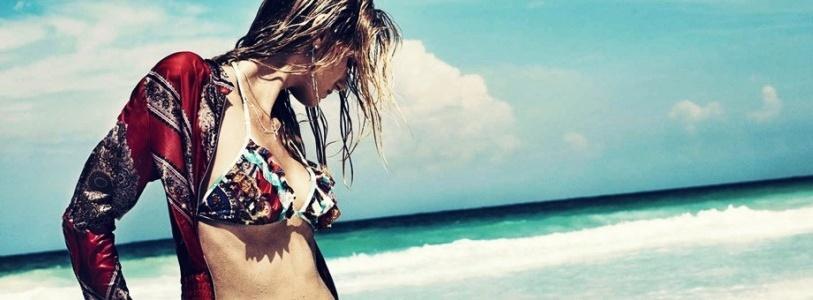Denisa Dvorakova for Zimmermann Summer 2013 Ad Campaign