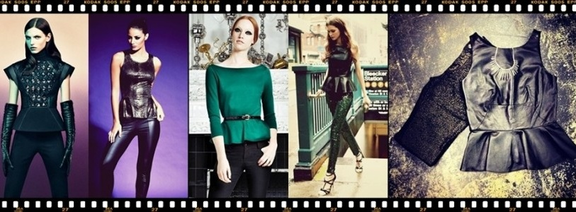 How to wear Legging Elegantly with Peplum Top