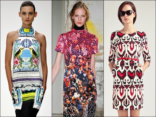 Playing with vibrant shades and prints can be the most fun part for those with thin frame