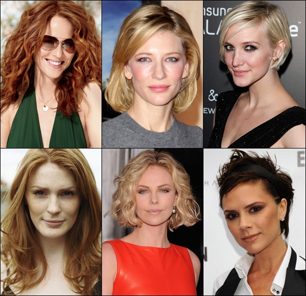 Haircuts and styles for thin face and long neck