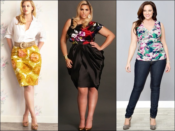 Plus size fashion ideas with playful colors and prints
