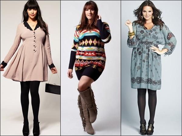 Plus size winter fashion look