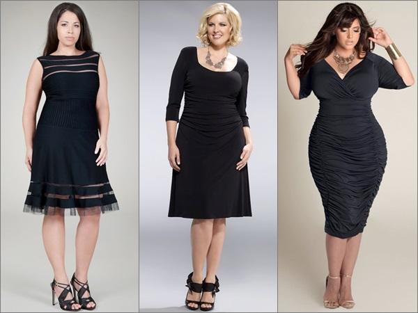 Little Black Dress for Plus Size Women