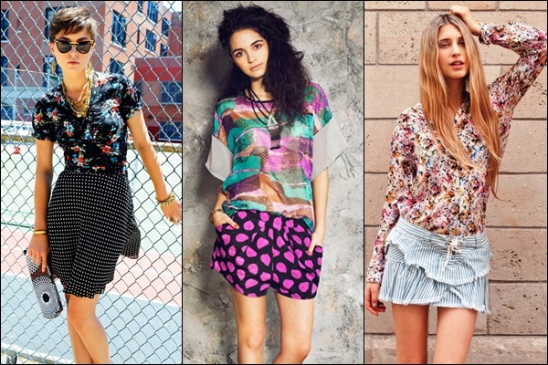 Mix n Match Prints and Textures in Outfits