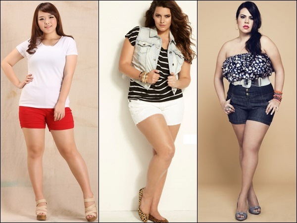 Shorts for plus size body