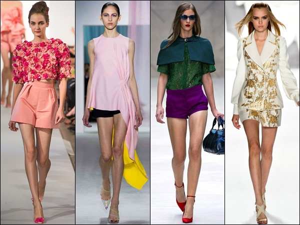 Outfits with shorts best fashioned for skinny women