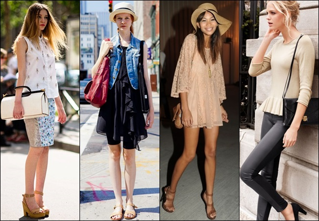 skinny girl dressing