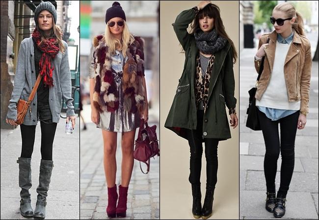 Street Fashion Style for Skinny Women