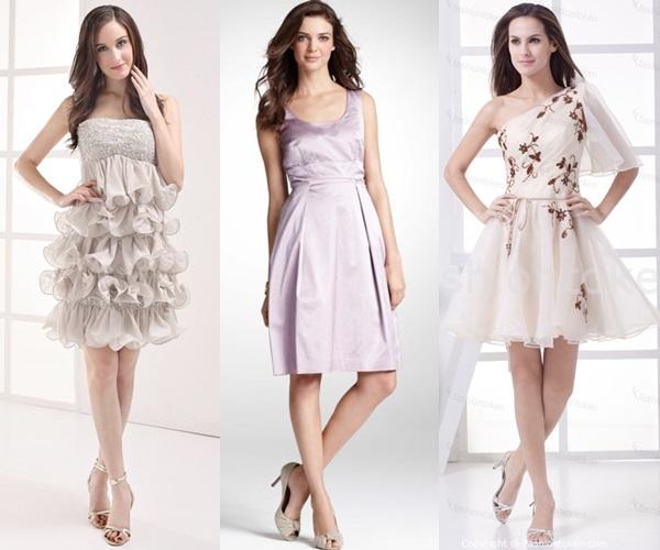 light pastel dress for weddings