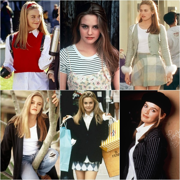 "Alicia Silverstone 90s Fashion Trend – mostly from the movie ""Clueless"""