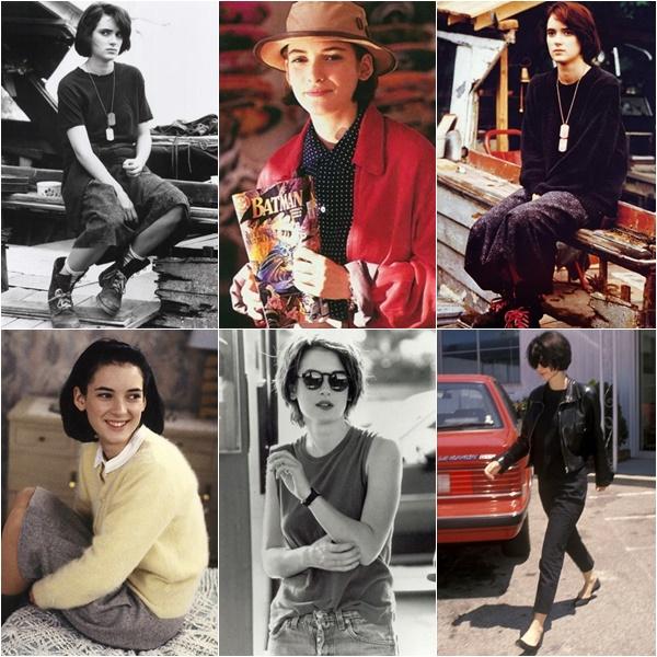 Winona Ryder 90s Fashion Trend