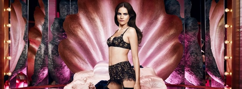 Agent Provocateur Fall Winter 2014-2015 Le Salon Lingerie Ad Campaign