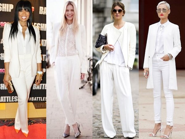 Highest trends that emphasize masculine vibe such as slouchy trousers