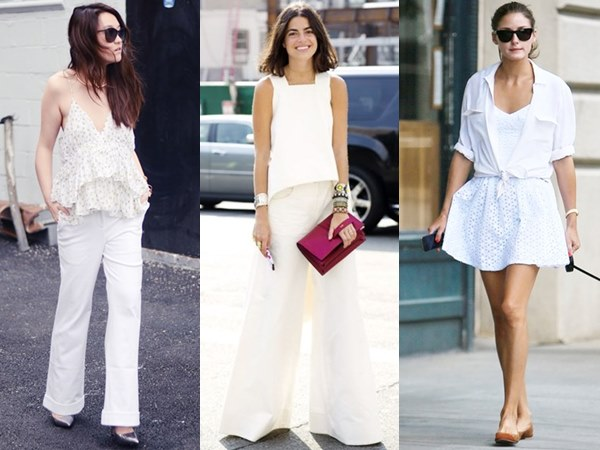 Spring Summer All White Fashion Looks