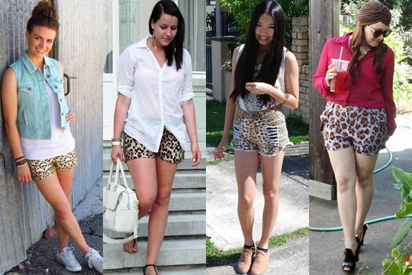Animal Printed Shorts Ideas for Spring and Summer