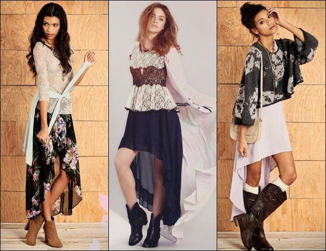 Mullet Dress in Bohemian Style