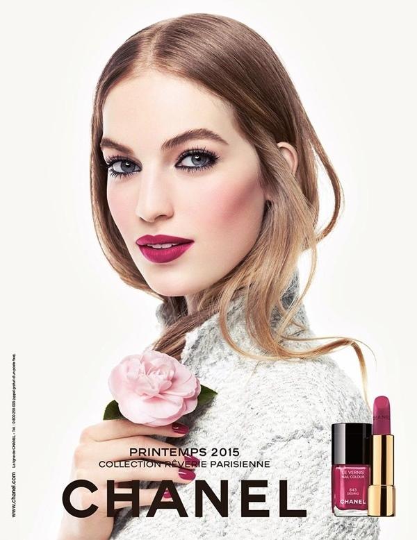 CHANEL Spring 2015 Makeup Reverie Parisienne