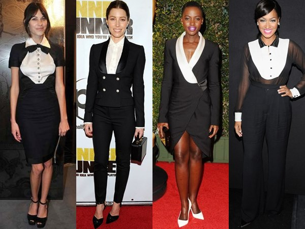 Tuxedo-Inspired Outfits