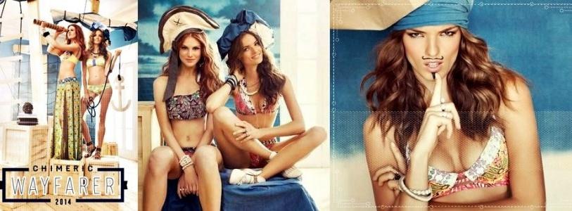 Chic and Colorful Maaji Chimeric Wayfarer Swimwear 2014 Collection