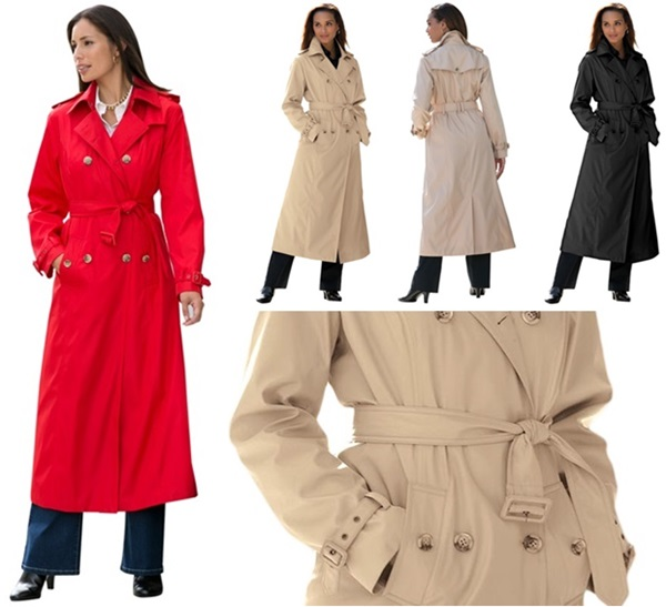 Plus Size Coats in a Larger Fit