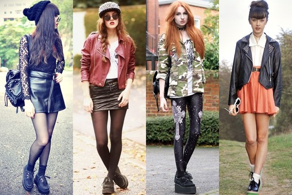 Rocky Chic Styles with Creeper Shoes