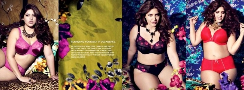 Elomi Plus Size Lingerie Fall Winter 2014 Collection