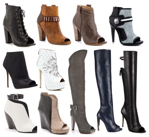 Fall Winter 2013 Open-Toe Boots Fashion Trend