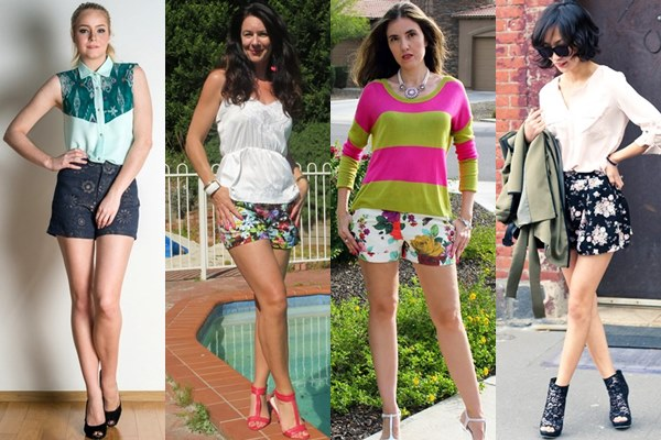 Floral Printed Shorts Ideas for Spring and Summer