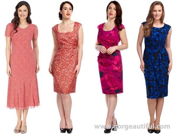 knee-length dresses for a Wedding Guest Attire