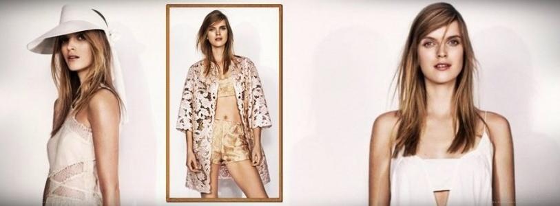 H&M Summer 2014 Lookbook featuring Mirte Maas