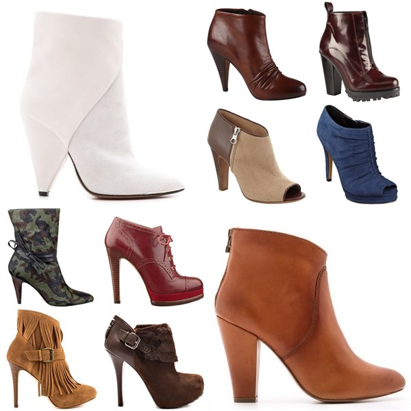 Ankle Boots Fashion Look