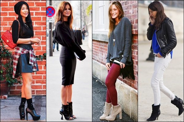 Heeled Boots Fashion Look