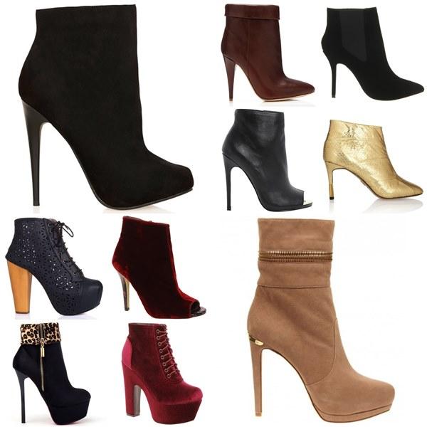 Stiletto Boots Fashion Look