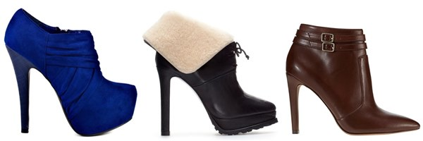 High Heel Ankle Boots for Petite Figure