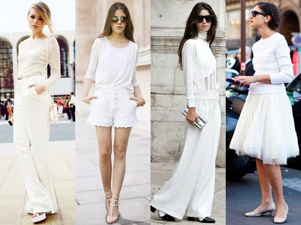 Clean and Simple All White outfit