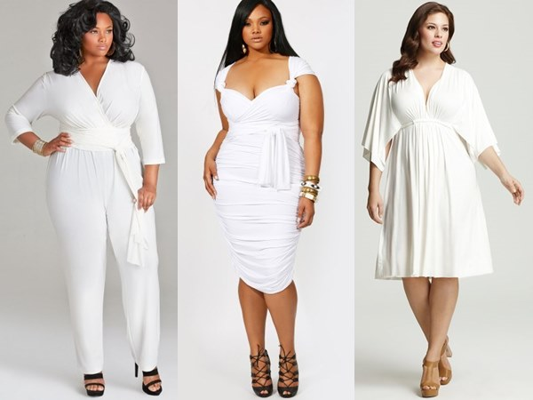 Playing with Details by Cinching Waist and Choosing V-neck for Creating Curvier yet Leaner Silhouette
