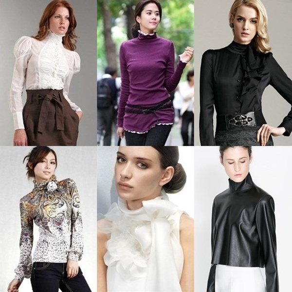 Turtleneck (High Neckline)