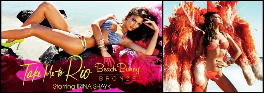 Irina Shayk for Beach Bunny Bronze Spring Summer 2013 Swimwear
