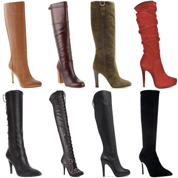 Tall Knee-high Boots Fashion Look
