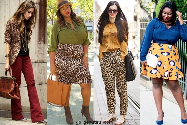Leopard Print Style with Earthy Tones