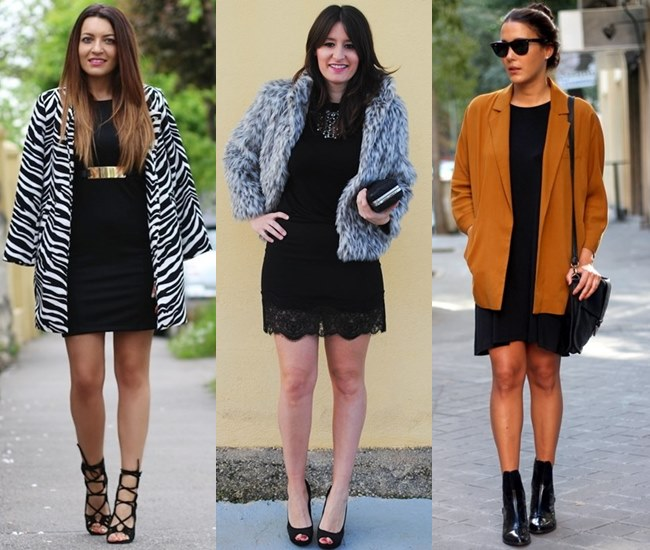 With Different Outerwear and Layer