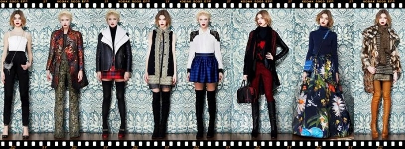 Lookbook: Alice + Olivia Fall Winter 2013 Collection