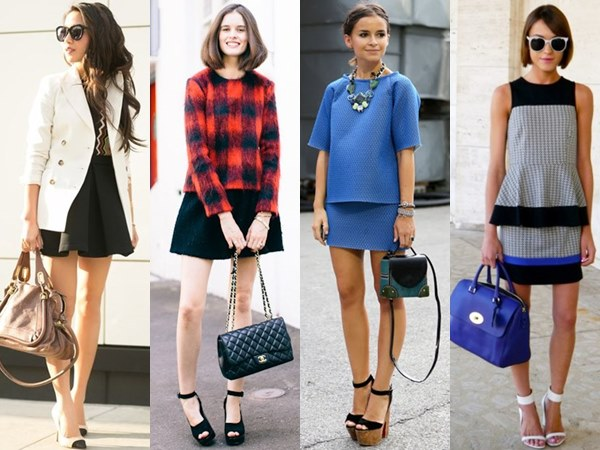 All types of mini skirts for petite