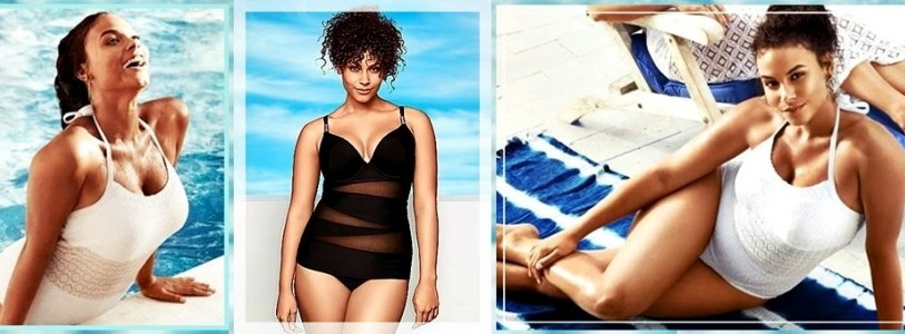 New Arrivals Summer 2014 Plus Size Swimwear from Lane Bryan