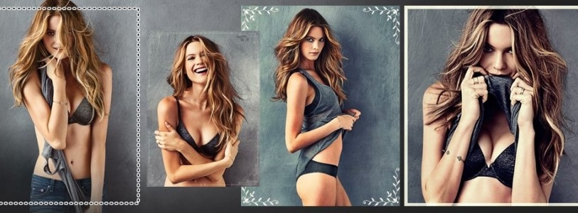 New Victoria's Secret T-Shirt Bra featuring Behati Prinsloo