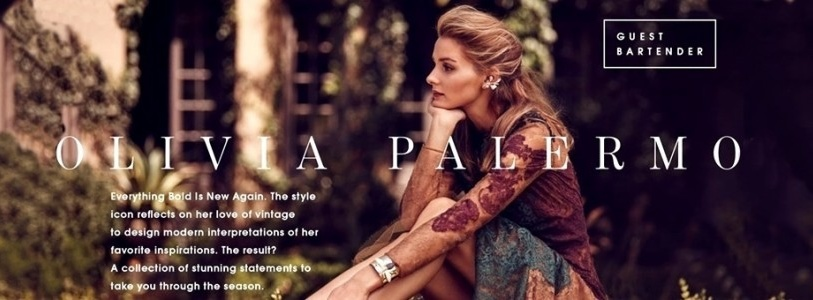 Olivia Palermo x BaubleBar Vintage Inspired Jewelry Collaboration – under $100