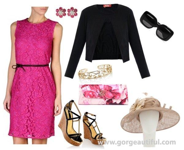 add cardigan or jacket for wedding guest attire