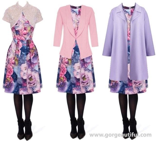 Outerwear for Winter Wedding Guess dresses