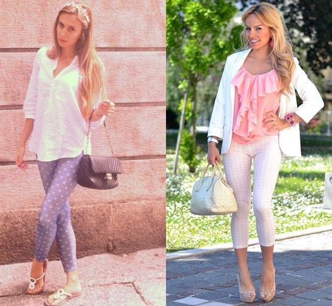 leggings can be worn in any season and be stylish